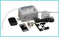 Электронные замки с дистанционным управлением для холодильных шкафов и витрин