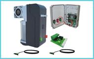 Осевые приводы для промышленных секционных ворот